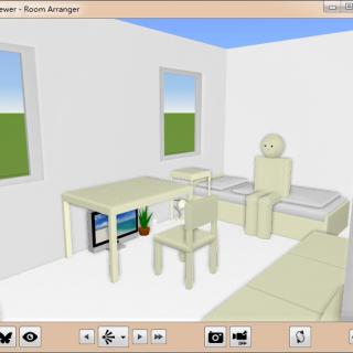 房屋布局设计工具 Room Arranger